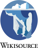 Logo Wikisource (von Homepage eingebunden)